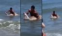 Κολυμβητής έπιασε καρχαρία με τα χέρια και του άνοιξε το στόμα [Βίντεο]