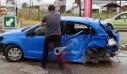 Σοκαριστικό τροχαίο στην Εθνική: 19χρονος οδηγός επιχείρησε να κάνει αναστροφή [βίντεο]