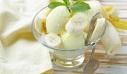 Σπιτικό παγωτό με πλούσια γεύση μπανάνας