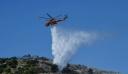 Μεγάλη φωτιά στην Τανάγρα: Στην περιοχή μεταβαίνει ο γ.γ. Πολιτικής Προστασίας