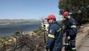 Υπό μερικό έλεγχο η πυρκαγιά στην Αγία Τριάδα Μεγάρων