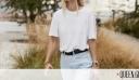 Θα φορέσεις jean με άσπρο μπλουζάκι; Aυτά τα 3 πράγματα πρέπει να προσέξεις