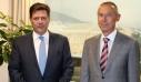 Συνάντηση Μιλτιάδη Βαρβιτσιώτη με τον Ρώσο πρέσβη: «Χτίζουμε συνεργασίες και σχέσεις σε γερές βάσεις»