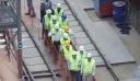 Έφτασαν οι πρώτες ράγες του μετρό στη Θεσσαλονίκη