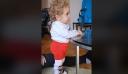 Ευχάριστα νέα: Στέκεται στα πόδια του ο Παναγιώτης – Ραφαήλ [βίντεο]