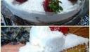 Τούρτα υπέροχη με καρύδα και φρέσκιες φράουλες !!!