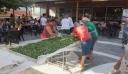 Ιωάννινα: Έφτιαξαν πίτα-γίγας με 90 φύλλα, 25 κιλά χόρτα και 15 κιλά φέτα [φωτο]