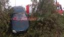 Αυτοκίνητο με πενταμελή οικογένεια «προσγειώθηκε» σε χωράφι