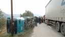 Τροχαίο ατύχημα στην Αθηνών-Κορίνθου – Επτά τραυματίες