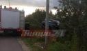 Σοβαρό τροχαίο στην Πατρών – Πύργου: Αυτοκίνητο με πενταμελή οικογένεια προσγειώθηκε σε χωράφι [φωτο]