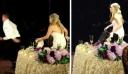 Κατά τη διάρκεια του γάμου τους, ο γαμπρός σηκώθηκε και άρχισε να τρέχει! Πάνω στην ώρα! Δείτε γιατί… [Βίντεο]