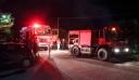 Δύσκολη νύχτα με την πυρκαγιά στο Ξυλόκαστρο