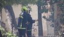 Οι πρώτες εικόνες από τη φωτιά σε μονοκατοικία στην Πατησίων