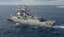 Δύο τουρκικά πολεμικά κοντά στις ακτές του Αγαθονησίου