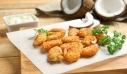 Τηγανητές γαρίδες με καρύδα