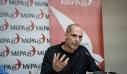 Βαρουφάκης: Μόνο το ΜέΡΑ25 μπορεί να ψαλιδίσει την αυτοδυναμία της ΝΔ