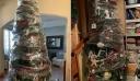 Μάνα που βαριέται ανακάλυψε τον πιο γρήγορο τρόπο να αποθηκεύσετε το Χριστουγεννιάτικου δέντρο σας