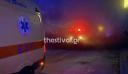 Θεσσαλονίκη: Φωτιά σε εγκαταλελειμμένο κτήριο στον παλιό Σταθμό του ΟΣΕ – Στο νοσοκομείο μεταφέρθηκε αλλοδαπός