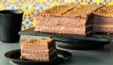 Μπισκοτογλυκό με πτι μπερ και κρέμα σοκολάτας
