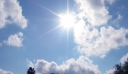 Ηλιοφάνεια και άνοδος της θερμοκρασίας