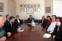 Ο Παύλος Μιχαηλίδης στον Ο.Λ.Α. Επί της ουσίας συζήτηση για το Master plan του λιμανιού της Αλεξανδρούπολης
