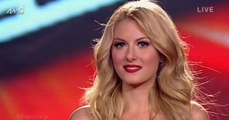 The Voice Μαρία-Έλενα Κυριάκου