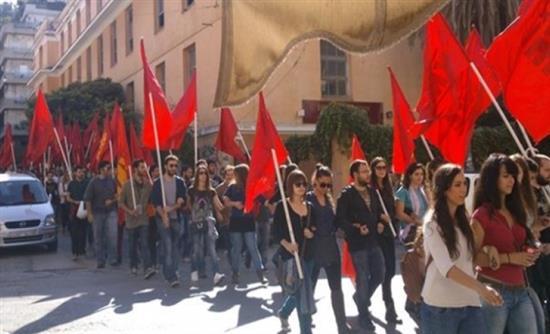 Πορεία του ΠΑΜΕ στην Πάτρα
