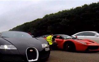 Ferrari LaFerrari vs Bugatti Veyron
