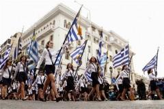 Ολοκληρώθηκε η μαθητική παρέλαση στη Θεσσαλονίκη – Το μίνι είχε και πάλι την τιμητική του[pic]