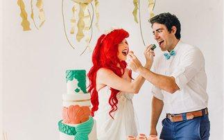 Μία νύφη σκέτη γοργόνα