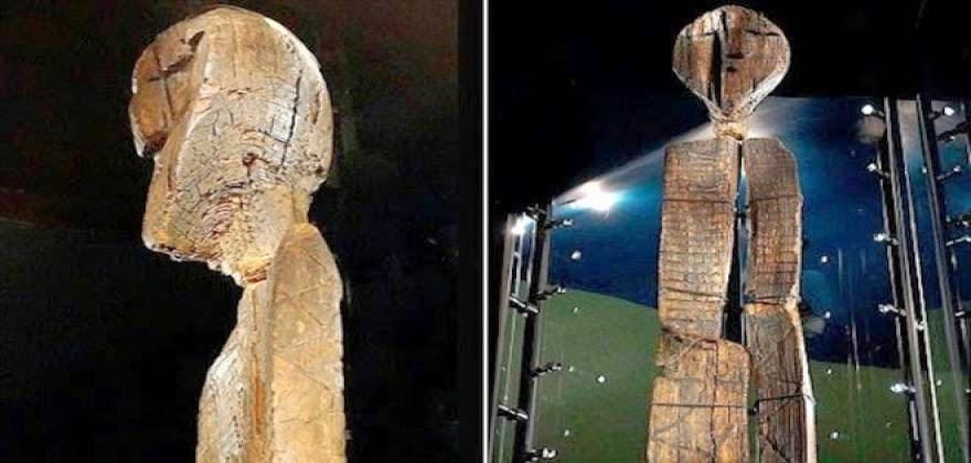 ΤΡΟΜΑΚΤΙΚΟ – Δείτε το αρχαιότερο ξύλινο άγαλμα του κόσμου που φτάνει τα 4 μέτρα [pics]
