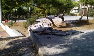 Γρ.Κωνσταντέλλος – Περιβαλλοντικό έγκλημα η πλατεία στο Πανόραμα Βούλας