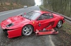Τι προκάλεσε ζημιά 36 000 ευρώ σε αυτή τη Ferrari..;