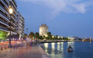 Στολισμός κρίσης στη Θεσσαλονίκη