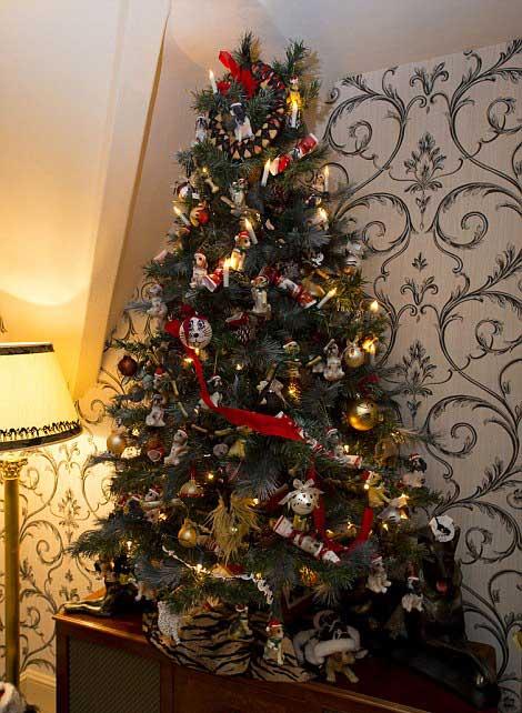 Ζευγάρι στολίζει 52 δέντρα κάθε Χριστούγεννα!! [pics]