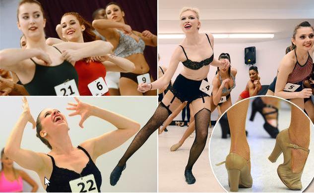 Απαγορεύεται η σιλικόνη!! Showgirl οντισιόν σε καμπαρέ στο Las Vegas (Pics)