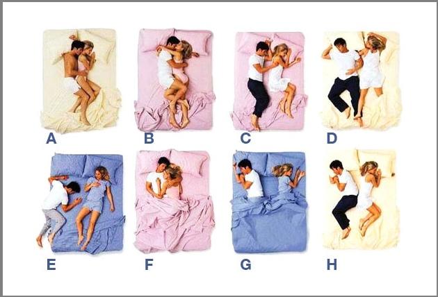 Sleeping Test!! Ο τρόπος που κοιμάσαι με τον αγαπημένο σου εξηγεί πολλά για τη σχέση σας