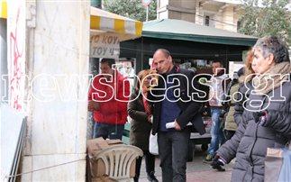 Κουλούρι για μεσημεριανό αγόρασε ο υπουργός του λιτού βίου