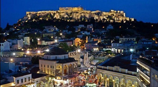 H Αθήνα στους τρεις καλύτερους προορισμούς της Ευρώπης