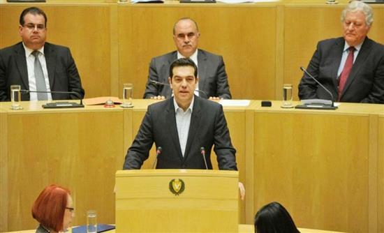 Τσίπρας: Να σταθεί η Κύπρος στο πλευρό μας για επιστροφή της ανάπτυξης