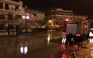 Εκκενώθηκε ξενοδοχείο στη Θεσσαλονίκη λόγω πυρκαγιάς