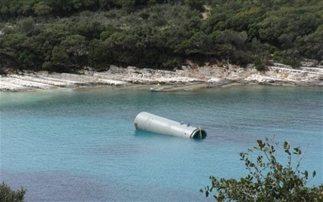 """""""Ύποπτο"""" αντικείμενο στη θάλασσα του Φισκάρδου"""
