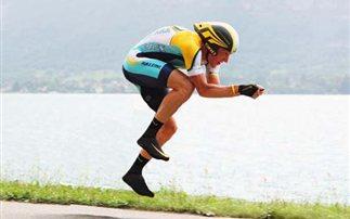 Η στάση του σώματος πάνω στο ποδήλατο