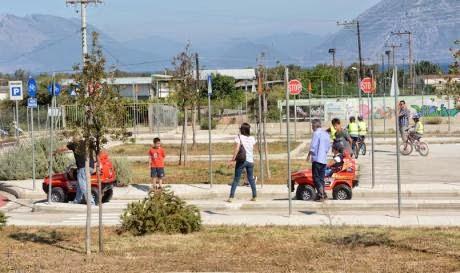 Οι μαθητές συνεχίζουν να εκπαιδεύονται στο Πάρκο Κυκλοφοριακής Αγωγής – Αχαΐα