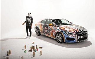 Αυτοκίνητο τέχνης με βάση τη Mercedes CLA (pics)