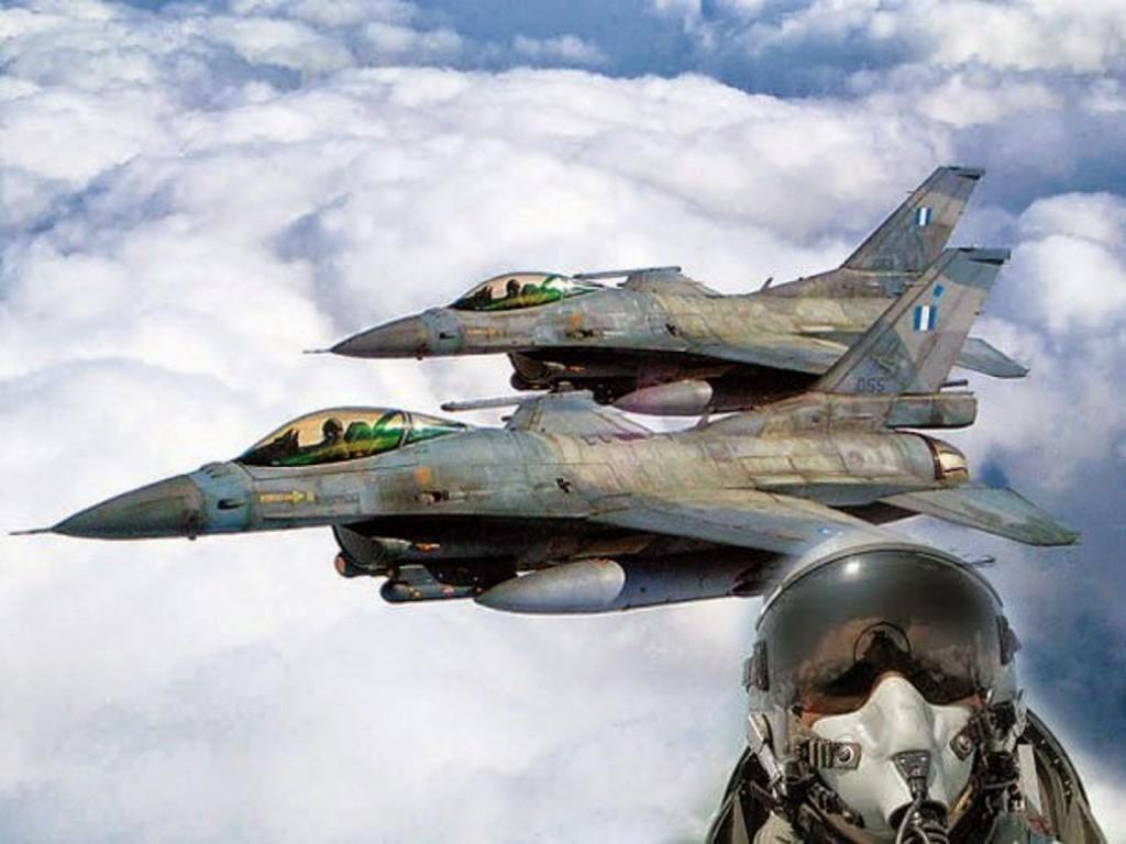Ευτυχώς που κάποιοι ακόμη αγρυπνούν και κυνηγούν τα Οπλισμένα F-16 των Τούρκων !!