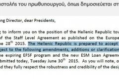 Ο Αλέξης Τσίπρας δέχτηκε όλους τους όρους προτάσεις των δανειστών – EKTAKTO