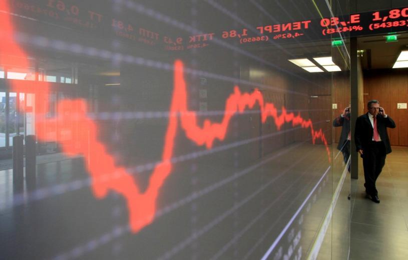 Χρηματιστήριο στο κόκκινο – Δραματική πτώση στις τραπεζικές μετοχές