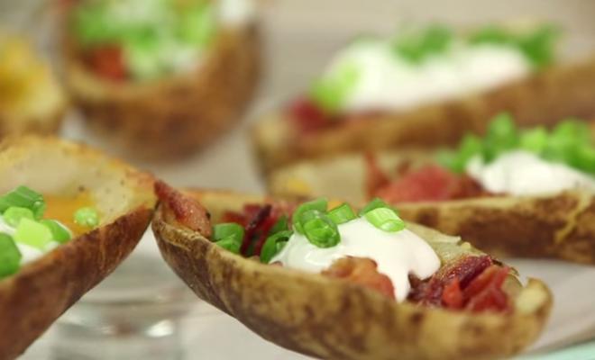 Η μέρα σήμερα απαιτεί πατάτες γεμιστές – Delicious