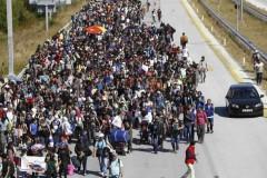 Εκατοντάδες πρόσφυγες από τη Συρία με κατεύθυνση τα σύνορα στον Έβρο